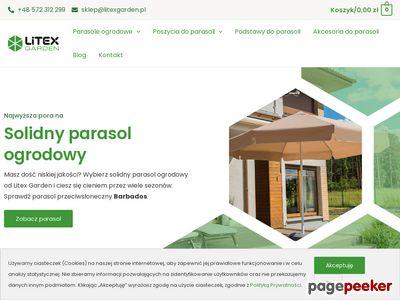 Www.litexgarden.pl | parasole ogrodowe reklamowe