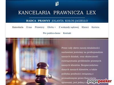 Kancelaria Prawnicza LEX - prawo medyczne i odszkodowania