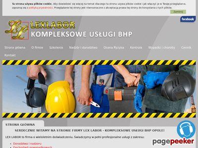 Szkolenia BHP Opole - Lexlabor.pl