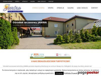 Zielone szkoły w Łebie