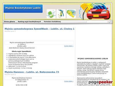 Lublin myjnie bezdotykowe