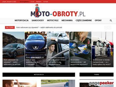 Sklep motoryzacyjny - Moto-obroty.pl