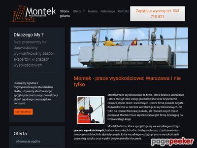 Montaż reklam Warszawa