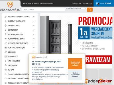 Www.montersi.pl - automatyka bram