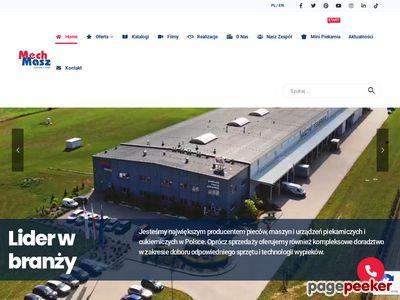 Www.mech-masz.com.pl - Piece sklepowe - modułowe