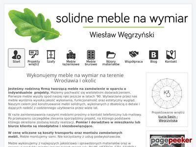 Meble na wymiar Wrocław