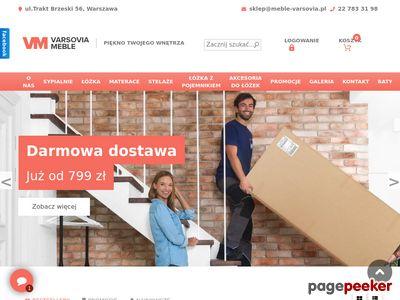 VARSOVIA-GLOB łóżko sosnowe warszawa