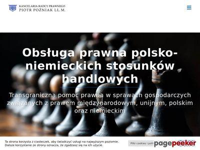 Kancelaria Radcy Prawnego - Porady prawne online