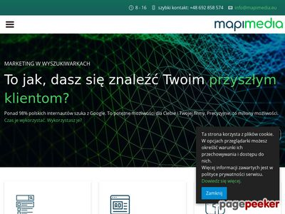 Mapi Media – SEO i projektowanie stron oraz kampanie Adwords