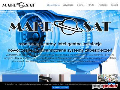 Sprzedaż sprzętu RTV-SAT www.makrosat.com.pl