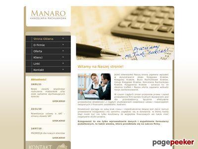 MANARO Biuro Rachunkowe
