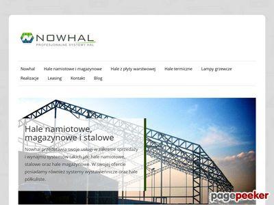 Nowhal - hale magazynowe, namiotowe, Szczecin
