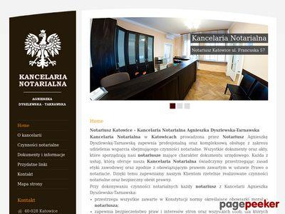Notariusze Katowice