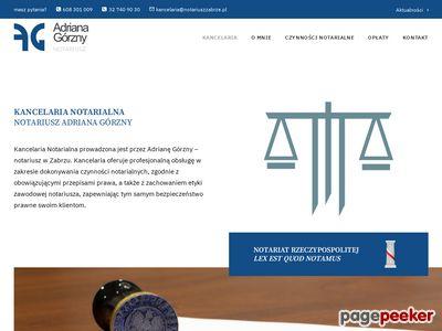 Kancelaria notarialna Zabrze