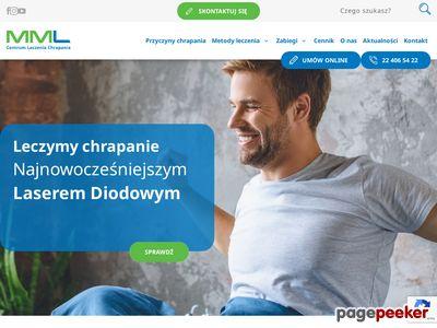 Leczenie bezdechu Niechrapanie.pl
