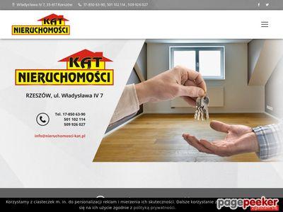 Kąt - Nieruchomości Rzeszów, mieszkania, domy