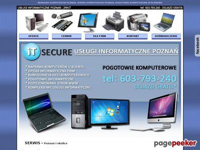 Serwis Komputerowy Poznań - naprawa komputerów