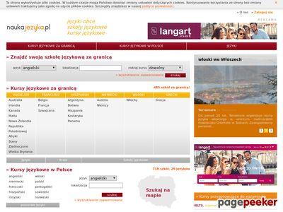Langart - Szkoły i kursy językowe za granicą
