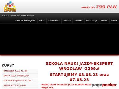 Nauka jazdy Wrocław