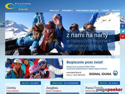 Wyjazdy narciarskie - optimtravel.com.pl