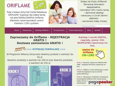Oriflame - Naturalne Szwedzkie Kosmetyki