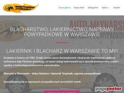 Dobry blacharz i dobry lakiernik Warszawa Targówek