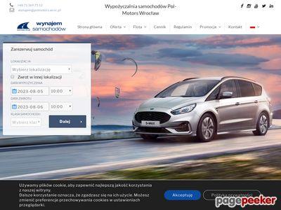 Samochody wypożyczalnia Wrocław - www.autowynajem.wroclaw.pl