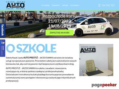 Nauka jazdy Szczecin