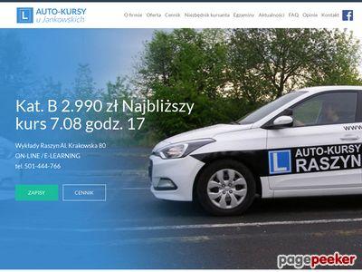 Auto Kursy Raszyn - Prawo Jazdy Okęcie, Warszawa, Raszyn