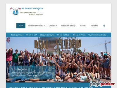 Zagraniczne kursy języka angielskiego