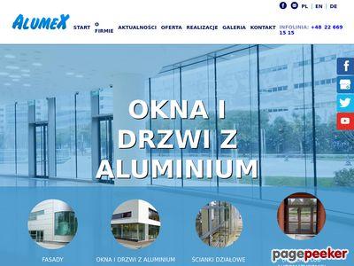Alumex. Producent stolarki aluminiowej i PCV