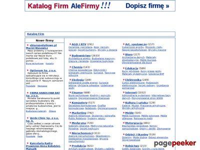 Firmy edukacyjne w AleFirmy.pl