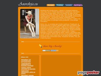 Anoreksja - objawy i przyczyny