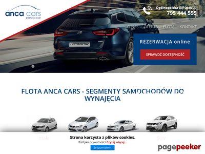 ANCA CARS wynajem samochodów Gdańsk