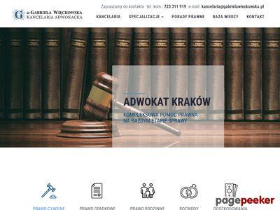 Adwokat Kraków - adwokatwieckowska.pl