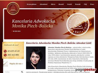Adwokat Łódź Sprawy rozwodowe i odszkodowawcze