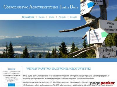 Gospodarstwo Agroturystyczne w Gorcach
