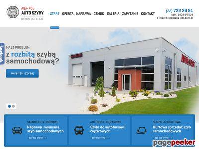 Naprawa szyb w samochodach dostawczych Warszawa - aga-pol.com.pl