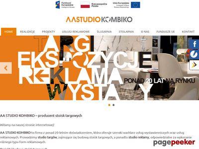 AA STUDIO KOMBIKO Stoiska targowe