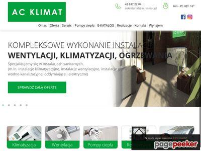 AC KLIMAT SP.J. ŁÓDŹ centrale wentylacyjne