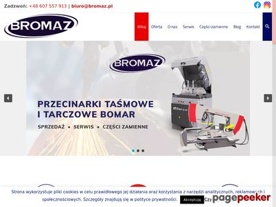 BROMAZ - Sprzedaż i serwis przecinarek BOMAR