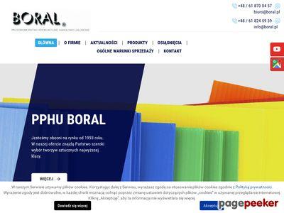 BORAL POZNAŃ tekstolit