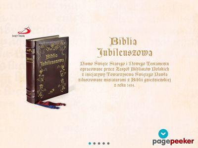Bibliajubileuszowa.pl - Biblia sacra