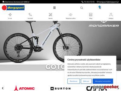 Bergsport - Narty, Rowery, Snowboard, Rolki - Wrocław