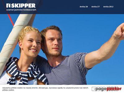 Czarter na Mazurach - Skipper