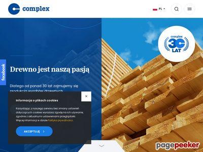 Drewno budowlane complex.gda.pl