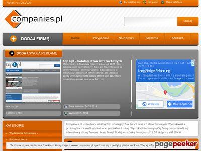 Lokalizator stron firmowych - www.companies.pl
