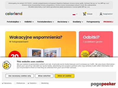 Tania fotoksiążka - Colorland.pl