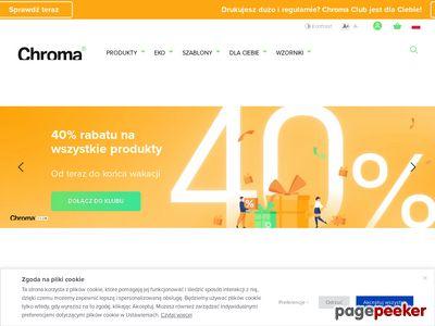 Chroma.pl: Druk ulotki