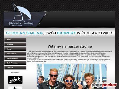Http://www.chociansailing.pl - osprzęt żeglarski